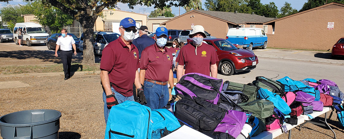 Backpack Distribution